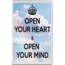 Open Your Heart & Open Your Mind