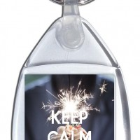 Keep Calm and Have a Cupcake - Small Keyring