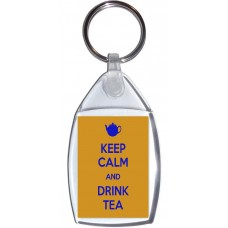 Keep Calm and Drink Tea - Keyring