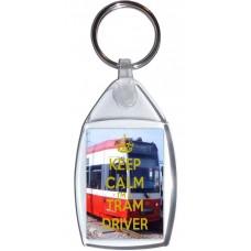 Keep Calm I'm a Tram Driver - Keyring