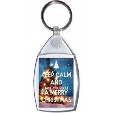Keep Calm and Have Yourself a Merry Christmas - Keyring