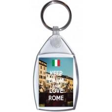 Keep Calm and Love Rome - Keyring