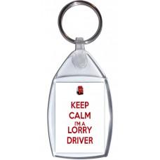 Keep Calm I'm a Lorry Driver - Keyring
