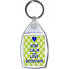 Keep Calm and Love Bookham - Keyring