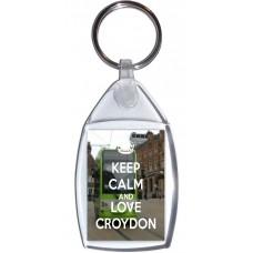 Keep Calm and Love Croydon - Keyring