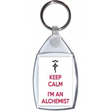 Keep Calm I'm an Alchemist - Keyring