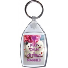 Keep Calm I'm Getting Married - Keyring