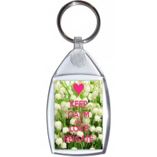 Keep Calm and Love Reigate - Keyring