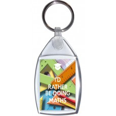 I'd Rather be Doing Maths - Keyring